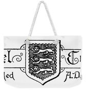 Oxford: Coat Of Arms Weekender Tote Bag