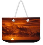 Pacific Sunset Weekender Tote Bag