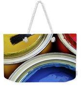 Paint Cans Weekender Tote Bag