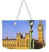 Palace Of Westminster From Bridge Weekender Tote Bag