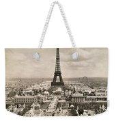 Paris: Eiffel Tower, 1900 Weekender Tote Bag