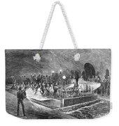 Paris: Sewers, 1869 Weekender Tote Bag