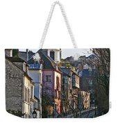 Parisian Street Scene Weekender Tote Bag