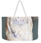 Parrot White Weekender Tote Bag