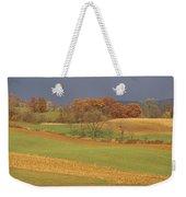 Pastoral View Of Rolling Fields Weekender Tote Bag
