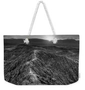 Path To The Sun   Black And White Weekender Tote Bag
