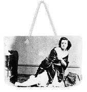 Pauline Cushman (1833-1893) Weekender Tote Bag