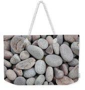 Pebbles On Beach Weekender Tote Bag