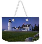 Pemaquid Point Lighthouse Weekender Tote Bag by Brian Jannsen
