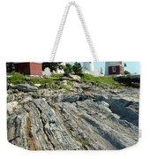 Pemaquid Point Lighthouse Weekender Tote Bag