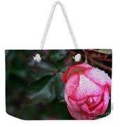 Peppermint Rose Weekender Tote Bag