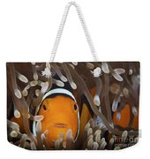 Percula Clownfish In Its Host Anemone Weekender Tote Bag