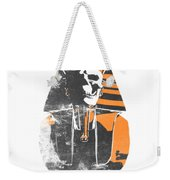 Pharaoh Stencil  Weekender Tote Bag by Pixel  Chimp