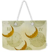 Phases Of An Eclipse Weekender Tote Bag by Science Source