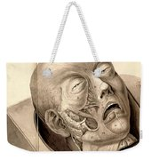 Physiognomical Illustration Of Human Weekender Tote Bag
