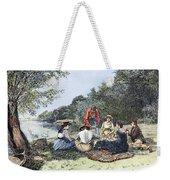 Picnic, 1885 Weekender Tote Bag
