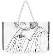 Pierre De Fermat, French Mathematician Weekender Tote Bag by Science Source