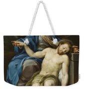 Pieta Weekender Tote Bag by Italian School