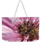 Pink Anemone From The St Brigid Mix Weekender Tote Bag