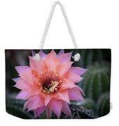 Pink Echinopsis Weekender Tote Bag