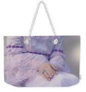 Pink Wedding Dress Weekender Tote Bag