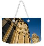 Pisa Tower And Cathedral Weekender Tote Bag
