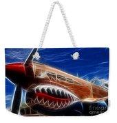 Plane Flying Tigers Weekender Tote Bag