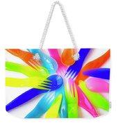 Plastic Cutlery Weekender Tote Bag