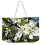 Plum Blossoms Weekender Tote Bag