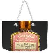 Poison, Circa 1900 Weekender Tote Bag