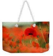Poppy Flowers 01 Weekender Tote Bag