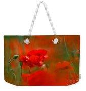 Poppy Flowers 02 Weekender Tote Bag