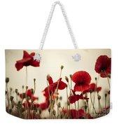 Poppy Flowers 03 Weekender Tote Bag