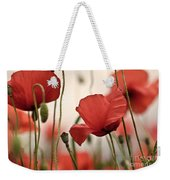 Poppy Flowers 04 Weekender Tote Bag