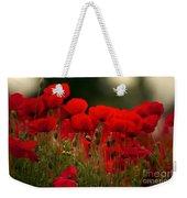 Poppy Flowers 05 Weekender Tote Bag