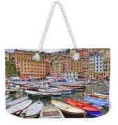 Port Of Camogli Weekender Tote Bag by Joana Kruse