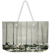Port On A Rainy Day Weekender Tote Bag