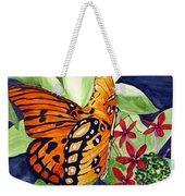 Precocious Butterfly Weekender Tote Bag