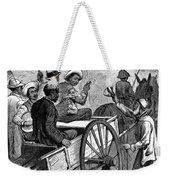 Presidential Campaign, 1876 Weekender Tote Bag by Granger