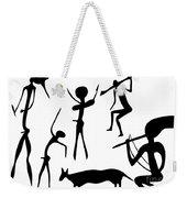 Primitive Art - Various Figures Weekender Tote Bag