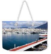 Puerto Banus In Spain Weekender Tote Bag