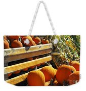 Pumpkins Weekender Tote Bag by Elena Elisseeva
