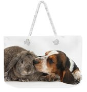 Puppy And Rabbt Weekender Tote Bag