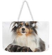 Puppy Pals Weekender Tote Bag