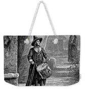 Puritan Church Drummer Weekender Tote Bag by Granger