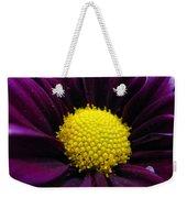 Purple Jewel Weekender Tote Bag
