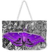 Purple Polyphemus Weekender Tote Bag