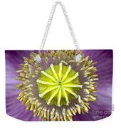 Purple Poppy Blossom Into A Star Weekender Tote Bag