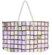 Purple Tiles Weekender Tote Bag by Tom Gowanlock