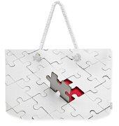 Puzzle Weekender Tote Bag by Joana Kruse